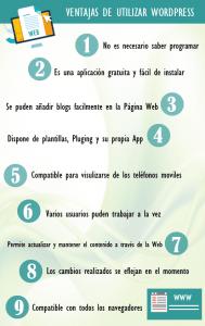 Ventajas de utilizar WordPress - Valencia