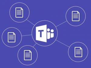 Microsoft Teams para compartir archivos