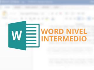 Curso de Word intermedio Modalidad Online